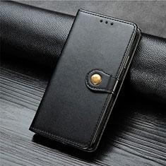 Xiaomi Mi Note 10 Lite用手帳型 レザーケース スタンド カバー L01 Xiaomi ブラック