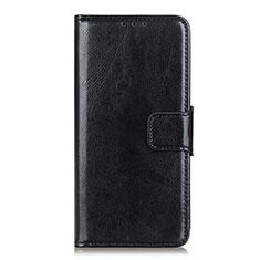 Xiaomi Mi Note 10 Lite用手帳型 レザーケース スタンド カバー L04 Xiaomi ブラック