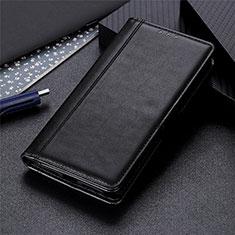 Xiaomi Mi Note 10 Lite用手帳型 レザーケース スタンド カバー L05 Xiaomi ブラック