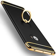 Xiaomi Mi Note 2用ケース 高級感 手触り良い アルミメタル 製の金属製 アンド指輪 Xiaomi ブラック