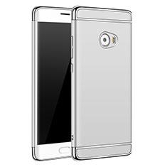 Xiaomi Mi Note 2用ケース 高級感 手触り良い メタル兼プラスチック バンパー Xiaomi シルバー