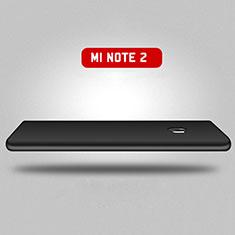 Xiaomi Mi Note 2用ハードケース プラスチック 質感もマット 前面と背面 360度 フルカバー Xiaomi ブラック