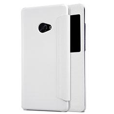 Xiaomi Mi Note 2用手帳型 レザーケース スタンド Xiaomi ホワイト