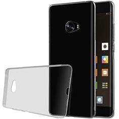Xiaomi Mi Note 2用極薄ソフトケース シリコンケース 耐衝撃 全面保護 クリア透明 T07 Xiaomi グレー