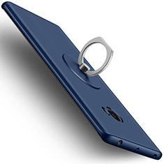 Xiaomi Mi Note 2 Special Edition用ハードケース プラスチック 質感もマット アンド指輪 Xiaomi ネイビー