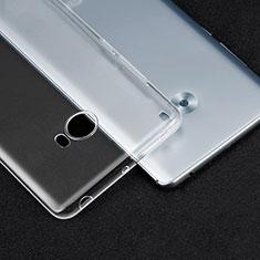 Xiaomi Mi Note 2 Special Edition用極薄ソフトケース シリコンケース 耐衝撃 全面保護 クリア透明 T04 Xiaomi クリア