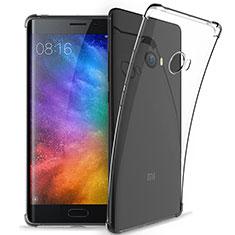 Xiaomi Mi Note 2 Special Edition用極薄ソフトケース シリコンケース 耐衝撃 全面保護 クリア透明 T05 Xiaomi クリア