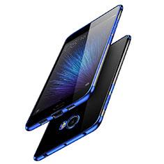 Xiaomi Mi Note 2 Special Edition用極薄ソフトケース シリコンケース 耐衝撃 全面保護 クリア透明 T08 Xiaomi ネイビー
