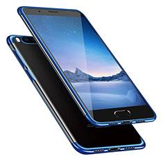 Xiaomi Mi Note 3用極薄ソフトケース シリコンケース 耐衝撃 全面保護 クリア透明 T08 Xiaomi ネイビー