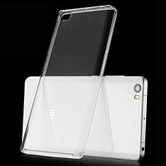 Xiaomi Mi Note用極薄ソフトケース シリコンケース 耐衝撃 全面保護 クリア透明 カバー Xiaomi クリア