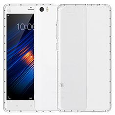 Xiaomi Mi Note用極薄ソフトケース シリコンケース 耐衝撃 全面保護 クリア透明 T04 Xiaomi クリア