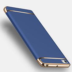 Xiaomi Mi Note用ケース 高級感 手触り良い アルミメタル 製の金属製 Xiaomi ネイビー