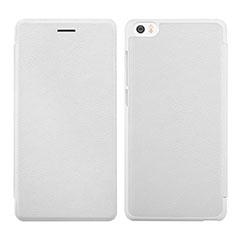 Xiaomi Mi Note用手帳型 レザーケース スタンド Xiaomi ホワイト