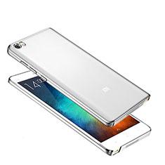 Xiaomi Mi Note用極薄ケース プラスチック クリア透明 カバー Xiaomi シルバー