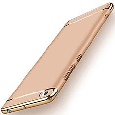 Xiaomi Mi Note用ケース 高級感 手触り良い メタル兼プラスチック バンパー Xiaomi ゴールド