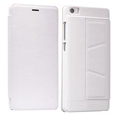 Xiaomi Mi Note用手帳型 レザーケース スタンド L01 Xiaomi ホワイト