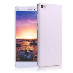 Xiaomi Mi Note用極薄ソフトケース シリコンケース 耐衝撃 全面保護 クリア透明 R02 Xiaomi クリア