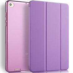 Xiaomi Mi Pad 2用手帳型 レザーケース スタンド L02 Xiaomi パープル