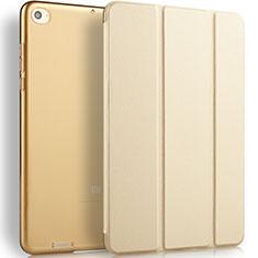 Xiaomi Mi Pad 2用手帳型 レザーケース スタンド L02 Xiaomi ゴールド