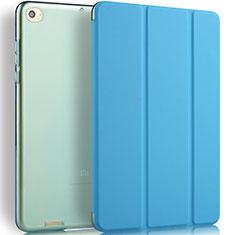 Xiaomi Mi Pad 2用手帳型 レザーケース スタンド L02 Xiaomi ネイビー