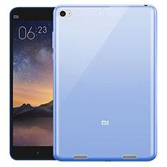 Xiaomi Mi Pad 2用極薄ソフトケース シリコンケース 耐衝撃 全面保護 クリア透明 Xiaomi ネイビー