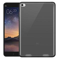 Xiaomi Mi Pad 2用極薄ソフトケース シリコンケース 耐衝撃 全面保護 クリア透明 Xiaomi グレー