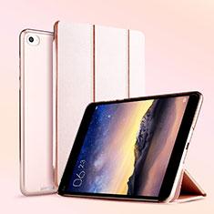 Xiaomi Mi Pad 2用手帳型 レザーケース スタンド L04 Xiaomi ローズゴールド