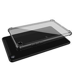 Xiaomi Mi Pad 4用極薄ソフトケース シリコンケース 耐衝撃 全面保護 クリア透明 H01 Xiaomi グレー