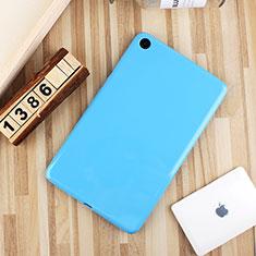 Xiaomi Mi Pad 4用極薄ソフトケース シリコンケース 耐衝撃 全面保護 S01 Xiaomi ブルー
