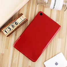 Xiaomi Mi Pad 4用極薄ソフトケース シリコンケース 耐衝撃 全面保護 S01 Xiaomi レッド