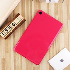 Xiaomi Mi Pad 4用極薄ソフトケース シリコンケース 耐衝撃 全面保護 S01 Xiaomi ローズレッド