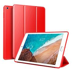 Xiaomi Mi Pad 4用手帳型 レザーケース スタンド カバー L01 Xiaomi レッド