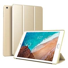 Xiaomi Mi Pad 4用手帳型 レザーケース スタンド カバー L01 Xiaomi ゴールド