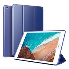 Xiaomi Mi Pad 4用手帳型 レザーケース スタンド カバー L01 Xiaomi ネイビー