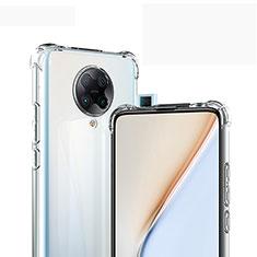 Xiaomi Poco F2 Pro用極薄ソフトケース シリコンケース 耐衝撃 全面保護 クリア透明 カバー Xiaomi クリア