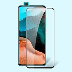 Xiaomi Poco F2 Pro用強化ガラス フル液晶保護フィルム アンチグレア ブルーライト Xiaomi ブラック