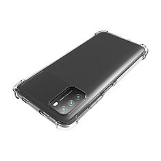 Xiaomi Poco M3用極薄ソフトケース シリコンケース 耐衝撃 全面保護 クリア透明 カバー Xiaomi クリア