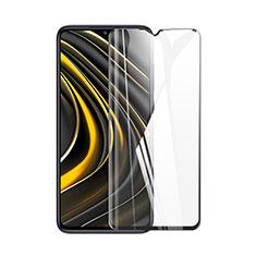 Xiaomi Poco M3用強化ガラス フル液晶保護フィルム Xiaomi ブラック