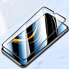 Xiaomi Poco M3用強化ガラス フル液晶保護フィルム F02 Xiaomi ブラック