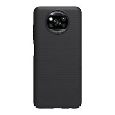 Xiaomi Poco X3 NFC用ハードケース プラスチック 質感もマット カバー M01 Xiaomi ブラック