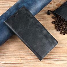 Xiaomi Poco X3 NFC用手帳型 レザーケース スタンド カバー Xiaomi ブラック