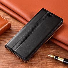 Xiaomi Poco X3 NFC用手帳型 レザーケース スタンド カバー L07 Xiaomi ブラック