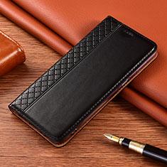 Xiaomi Poco X3 NFC用手帳型 レザーケース スタンド カバー L08 Xiaomi ブラック
