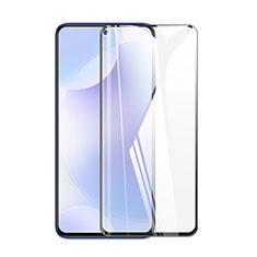 Xiaomi Poco X3 NFC用強化ガラス フル液晶保護フィルム F02 Xiaomi ブラック