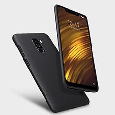 Xiaomi Pocophone F1用ハードケース プラスチック メッシュ デザイン Xiaomi ブラック