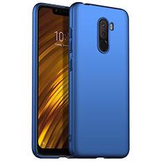 Xiaomi Pocophone F1用ハードケース プラスチック 質感もマット M02 Xiaomi ネイビー