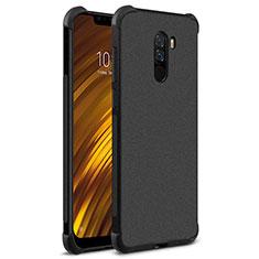 Xiaomi Pocophone F1用シリコンケース ソフトタッチラバー カバー Xiaomi ブラック