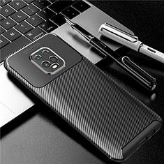 Xiaomi Redmi 10X Pro 5G用シリコンケース ソフトタッチラバー ツイル カバー Xiaomi ブラック