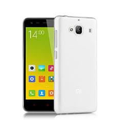Xiaomi Redmi 2A用極薄ソフトケース シリコンケース 耐衝撃 全面保護 クリア透明 T02 Xiaomi クリア
