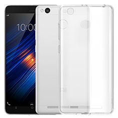 Xiaomi Redmi 3S用極薄ソフトケース シリコンケース 耐衝撃 全面保護 クリア透明 T05 Xiaomi クリア